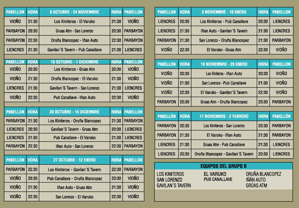 Ayuntamiento de pi lagos liga municipal de futbol sala for Liga municipal marca